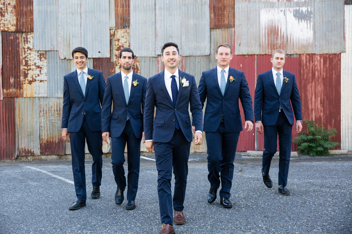 Miners Foundry Nevada City Wedding photos with groom