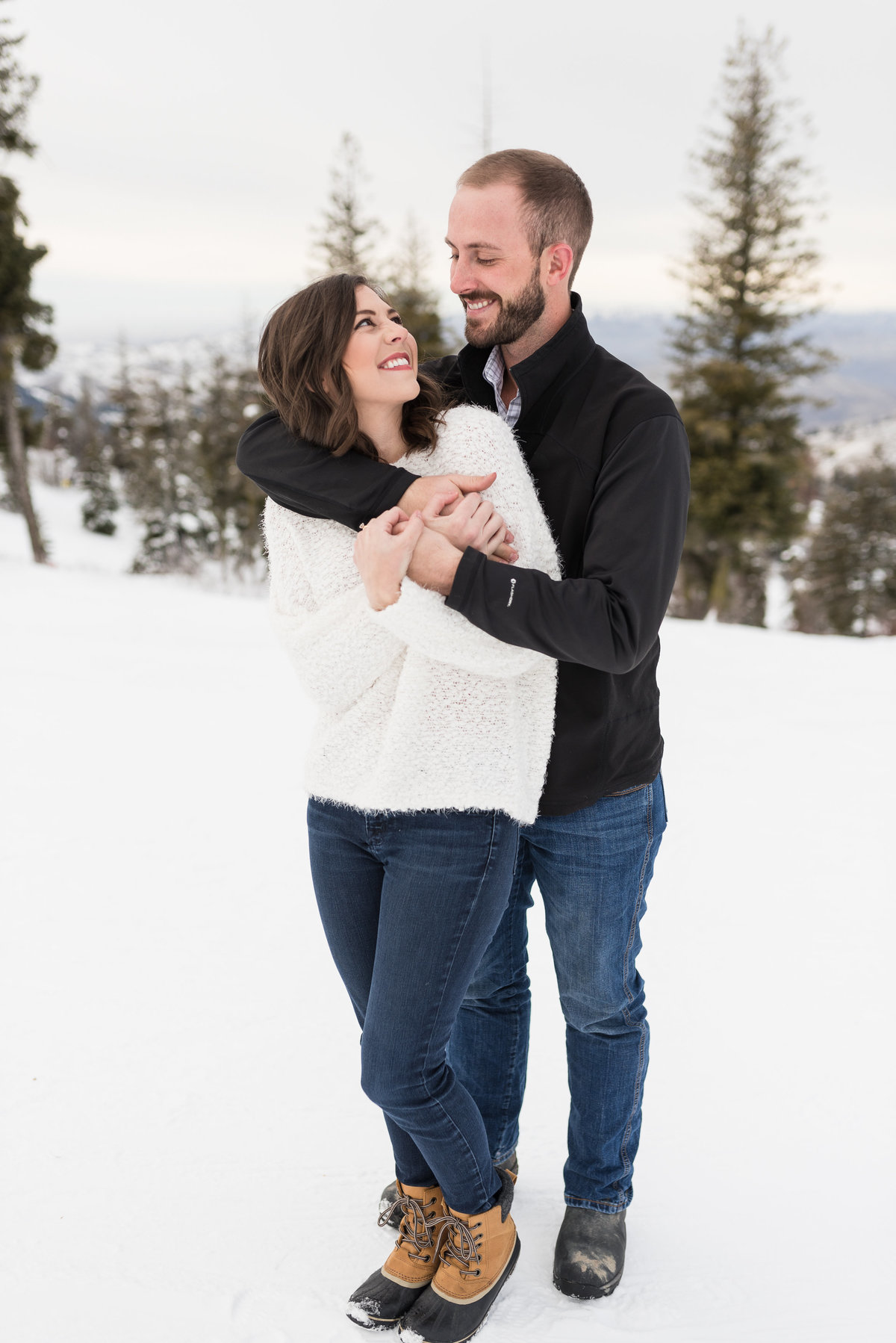 A  Winter Bogus Basin Engagement Shoot 012