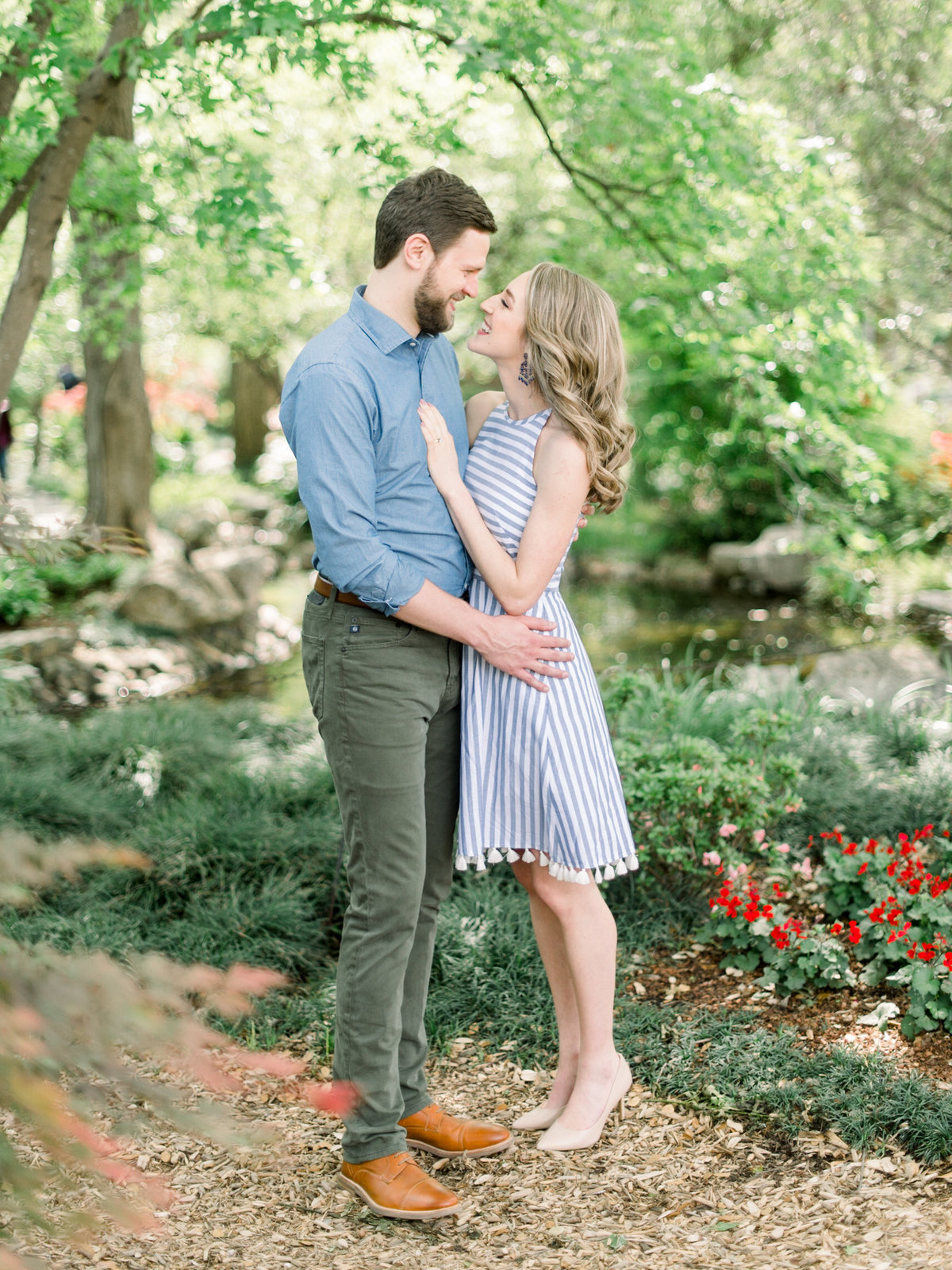 Courtney Hanson Photography - Dallas Spring Engagement Photos at Dallas Arboretum-2570