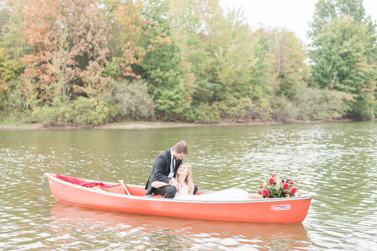 Canoe Adventure Wedding-3