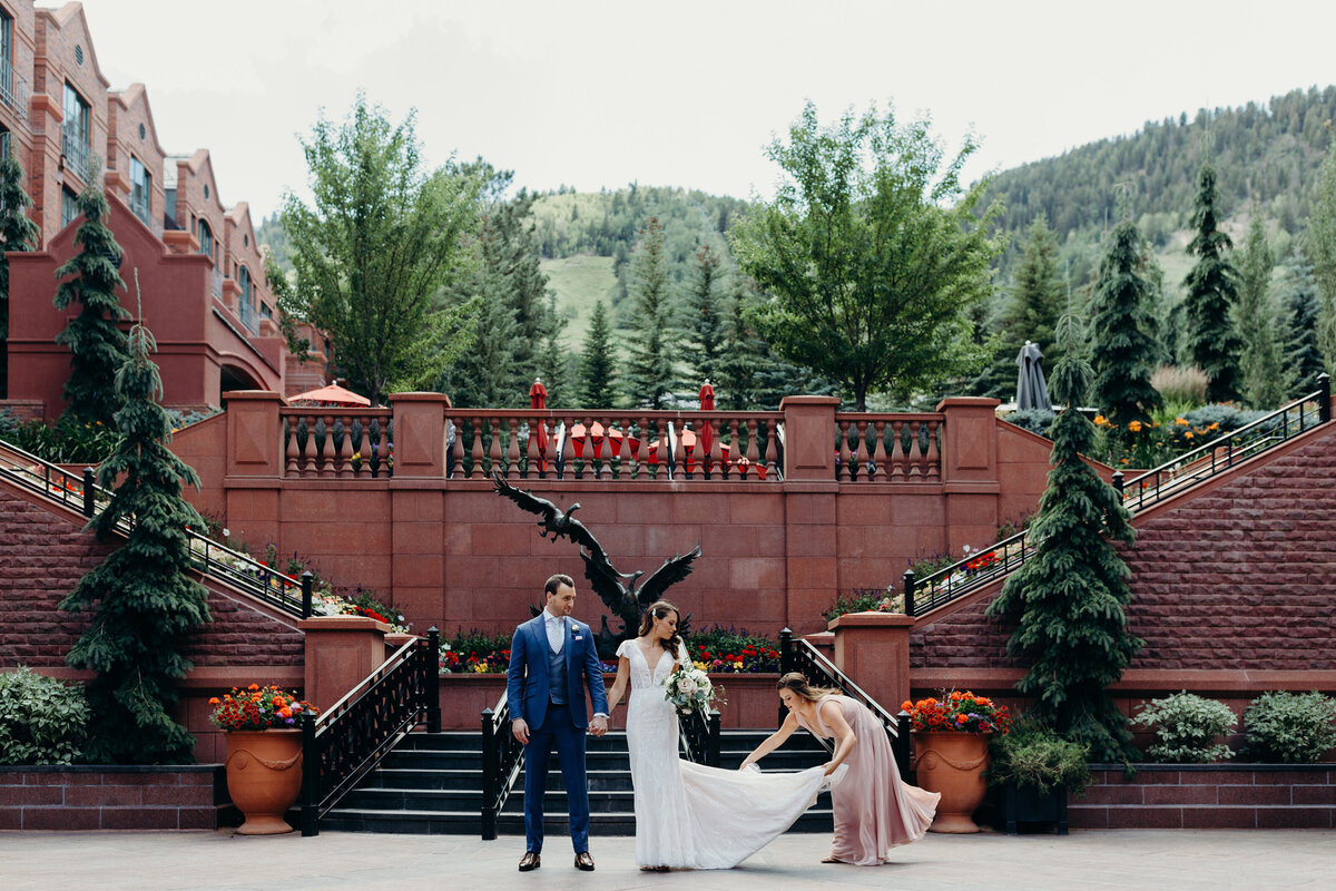 gps-first-look-aspen-st-regis-courtyard-custom-bespoke-blue-suit