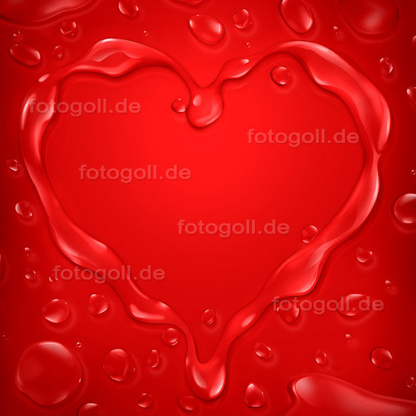 FOTO GOLL - HEART CANVASES - 20120119 - Melting Love_Square