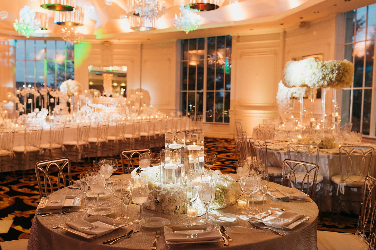 Westmount Country Club white modern New Jersey wedding 21