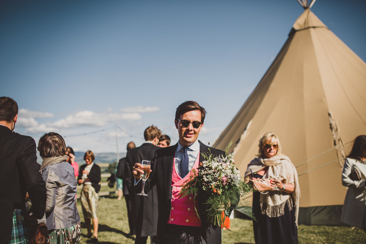 boho festival tipi wedding72