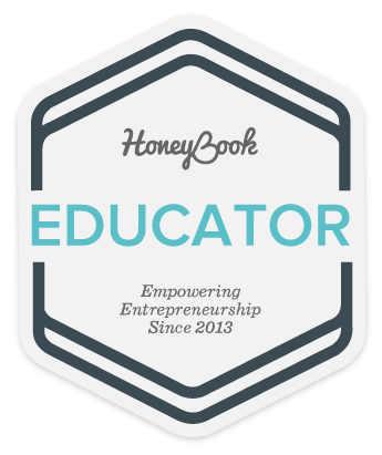 HoneyBook Educator Badge