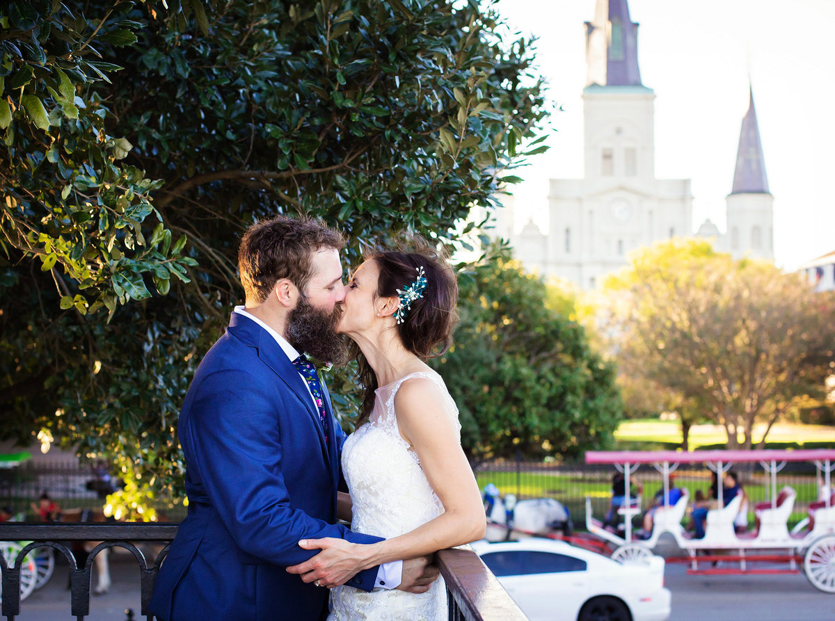 wedding elopement St. Louis Cathedral