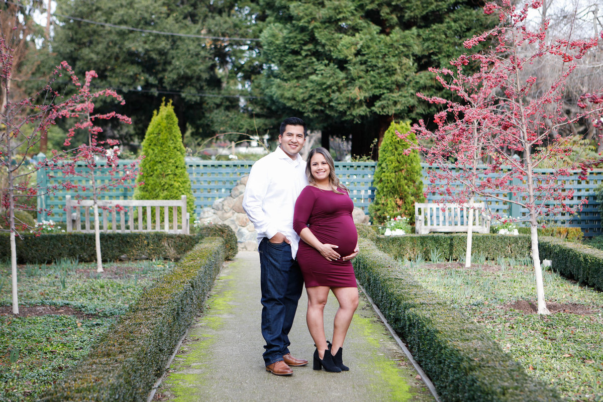 Gamble Garden Maternity photos
