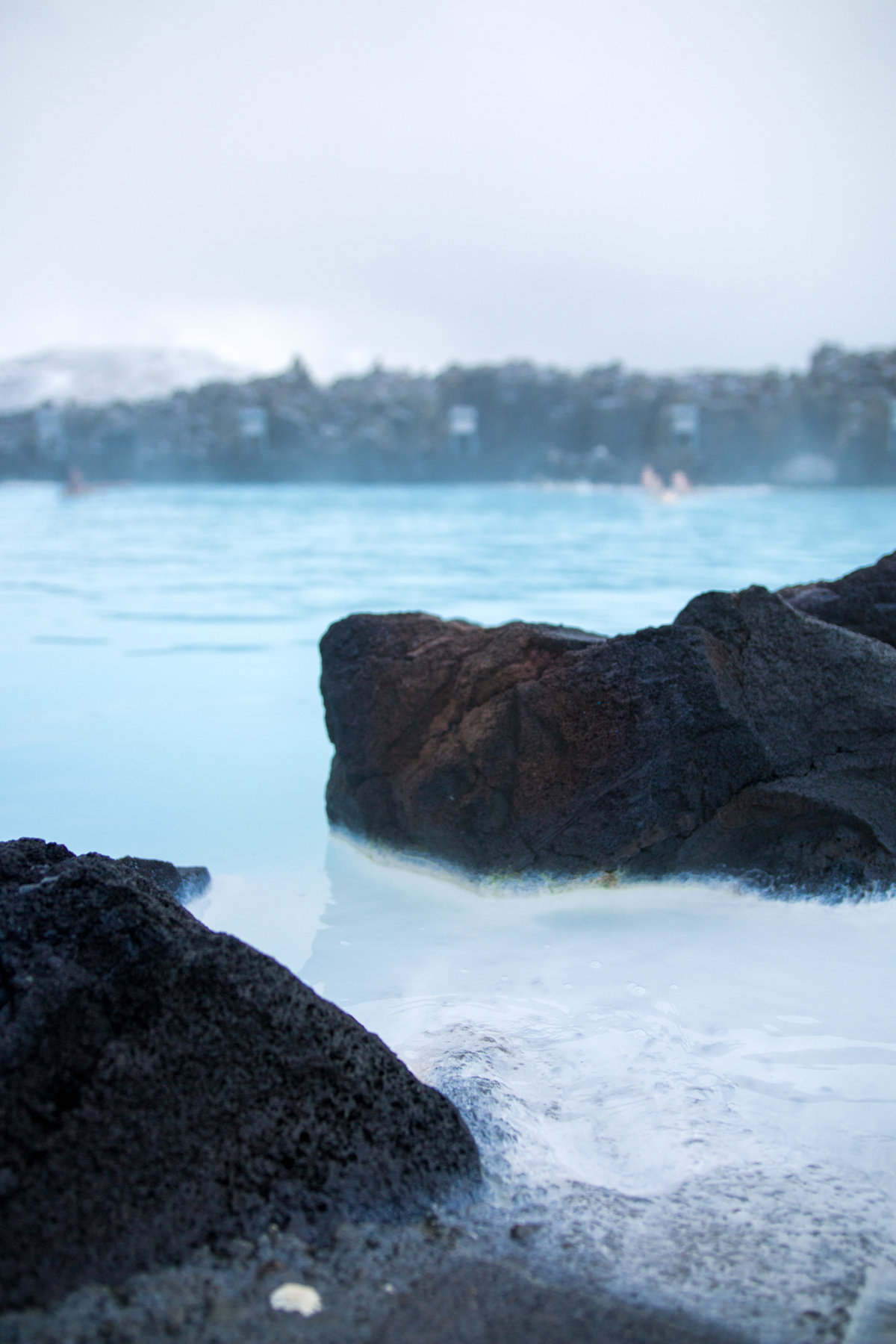 blue lagoon in Iceland photography