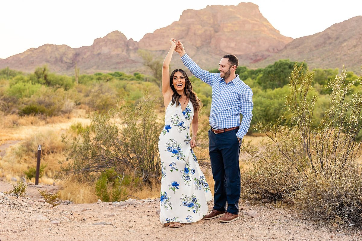 Celina + Colton - Engagement - Salt River Engagement Session-150_Lunabear Studios Portfolio