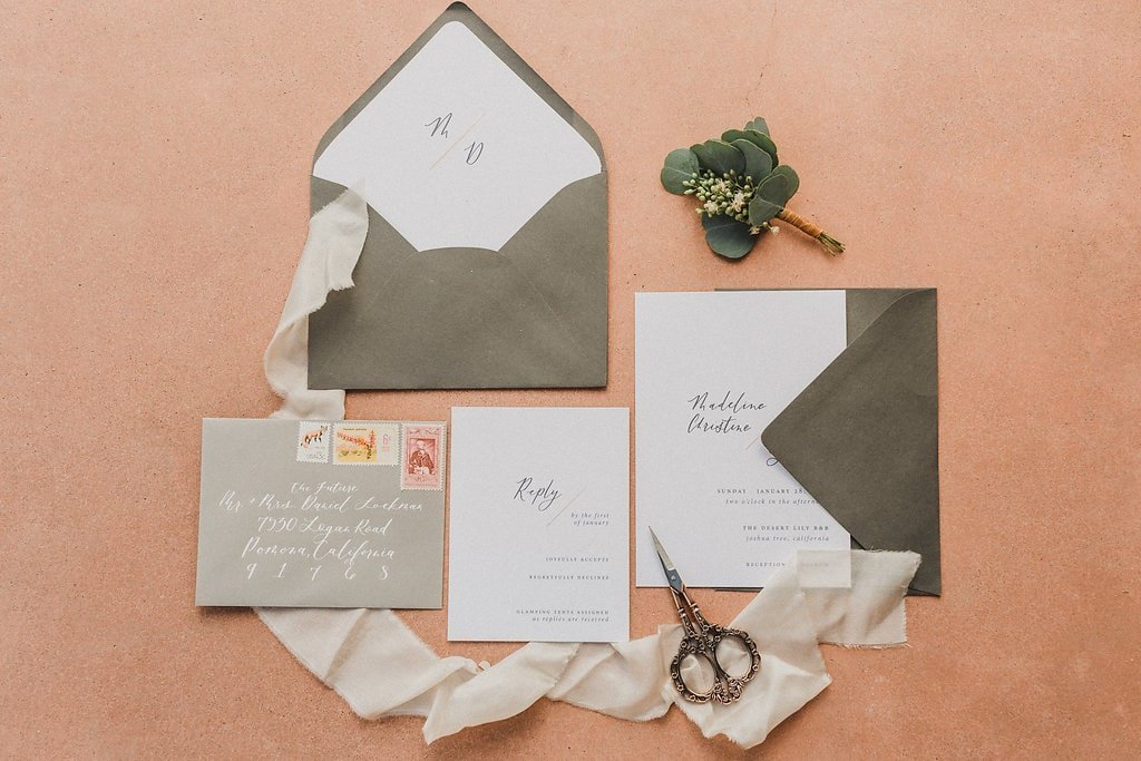wedding stationery calligraphy invitations-1