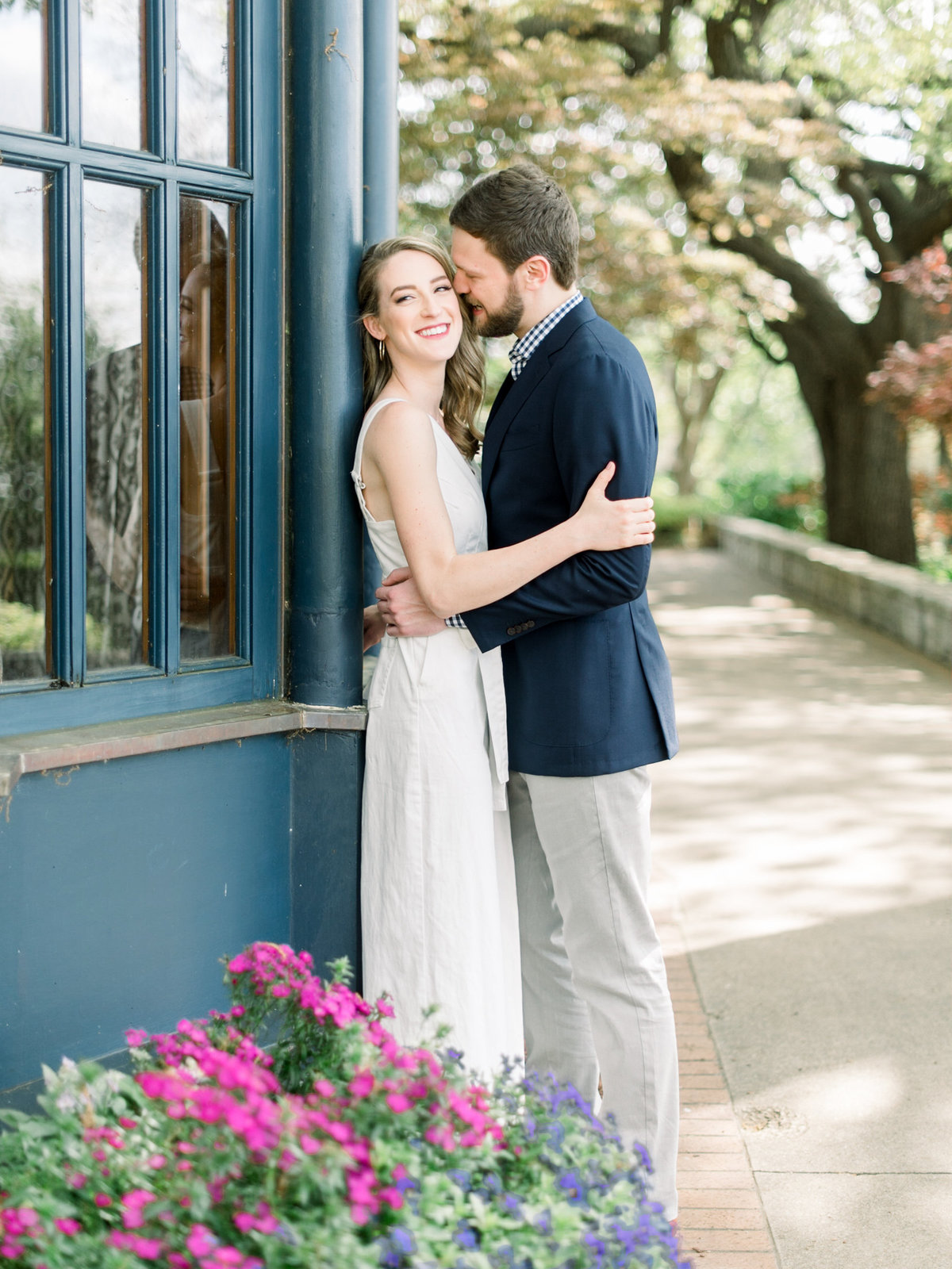 Courtney Hanson Photography - Dallas Spring Engagement Photos at Dallas Arboretum-2717