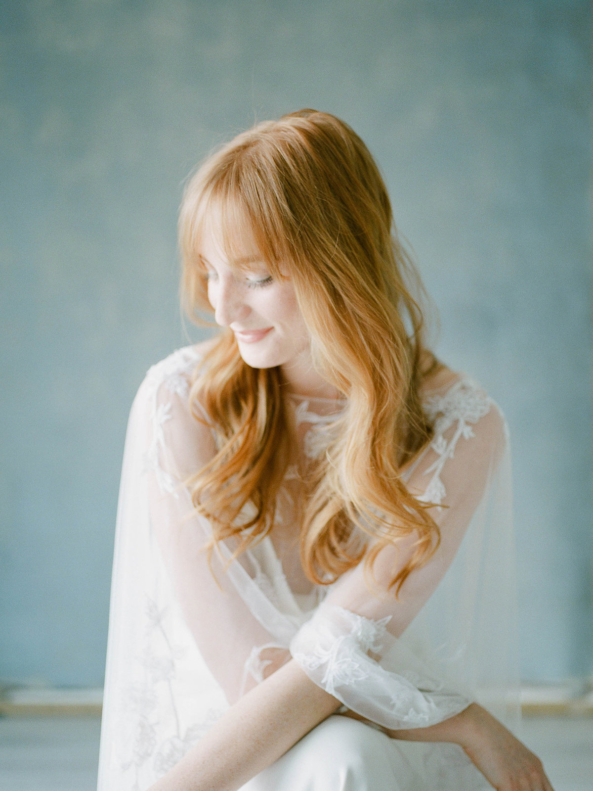 Fine Art Bridal Portraits - Sarah Sunstrom Photography - Film Wedding Photographer - 9