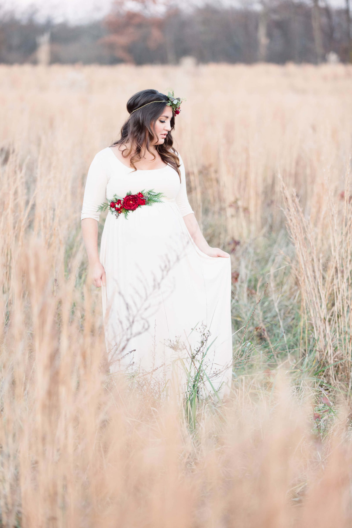 Christmas Maternity Shoot 1138