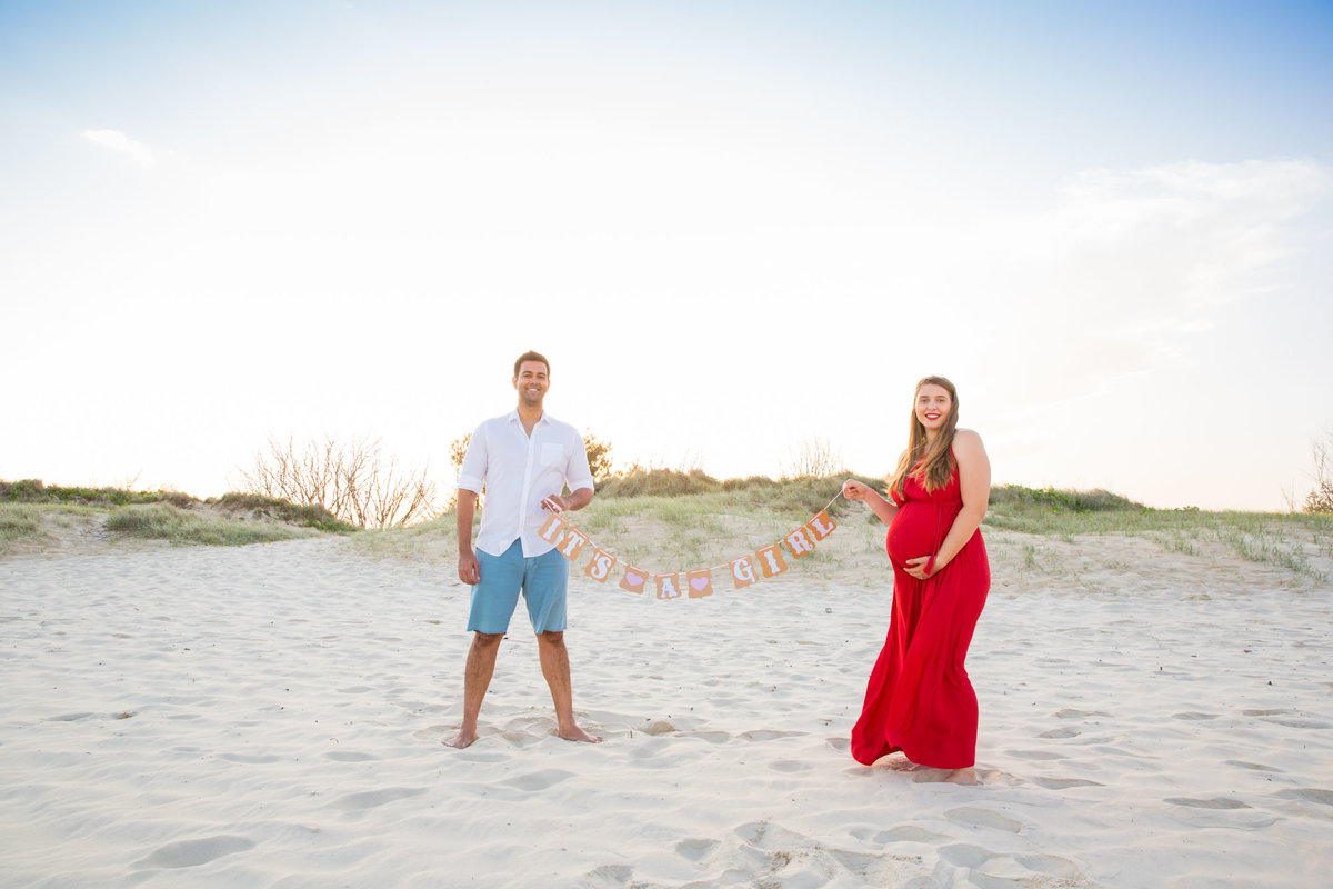 Gender Reveal Gold Coast Photographer
