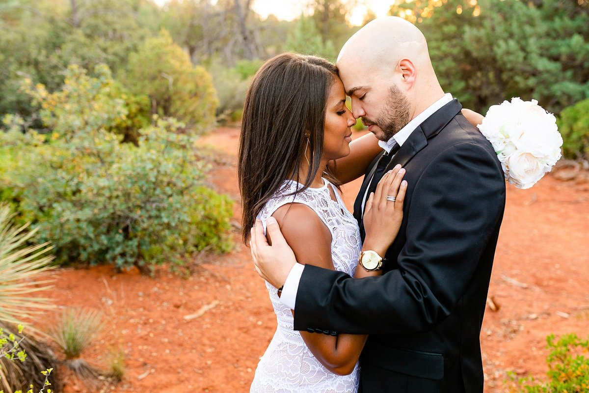 Monica + Austin - Sedona Engagement Session - Cathedral Rock - Lunabear Studios_0198