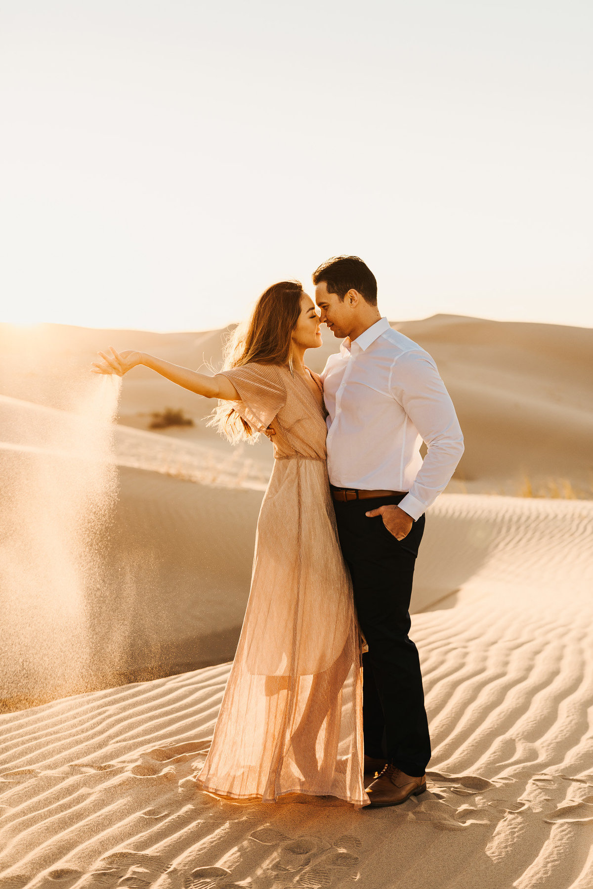 Sand Dunes Engagement Parker Micheaels Photography-1