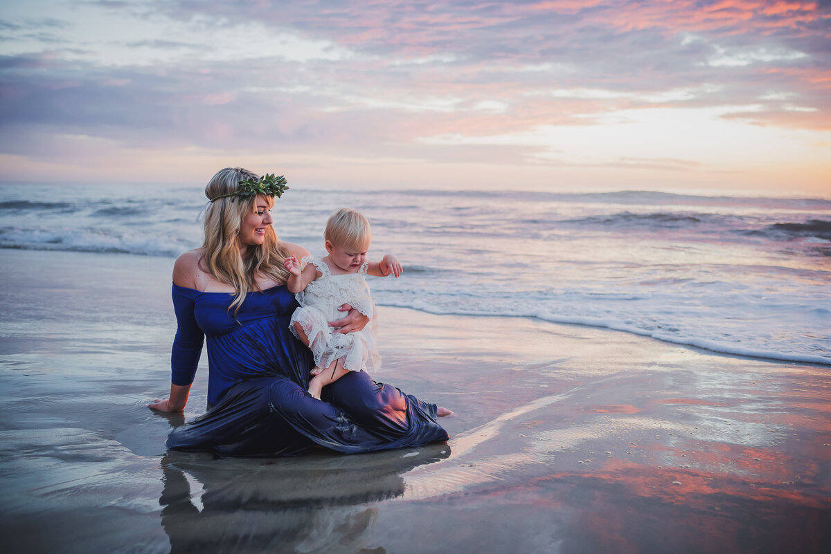 Mommy n Me - San Diego Maternity Session