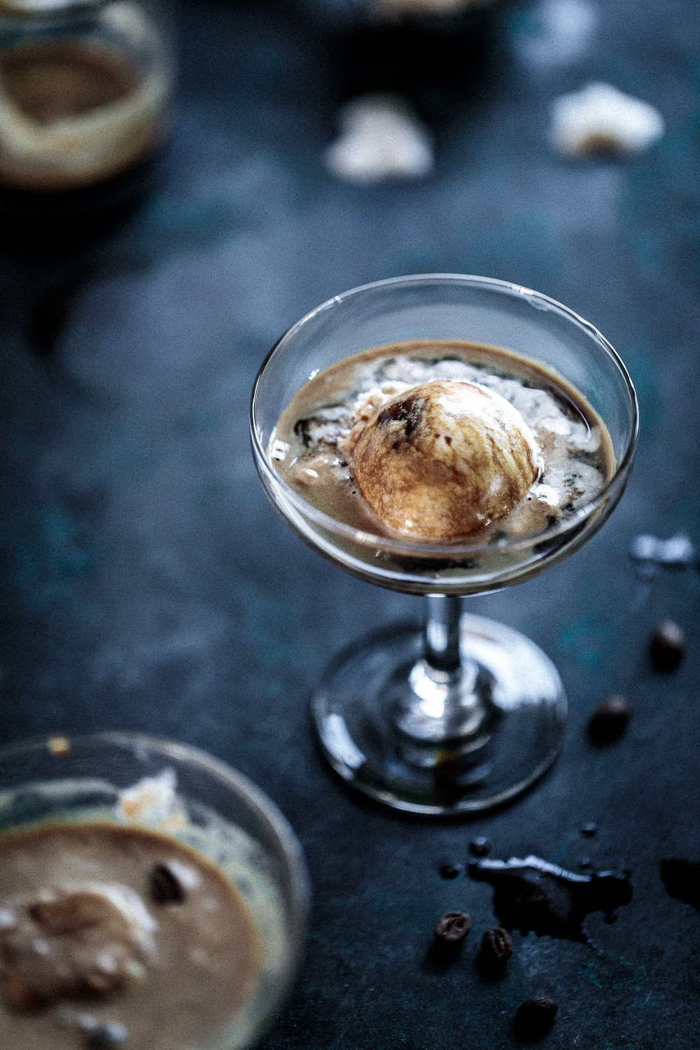 Honeycomb & Butterscotch Affogato | Anisa Sabet | The Macadames-101