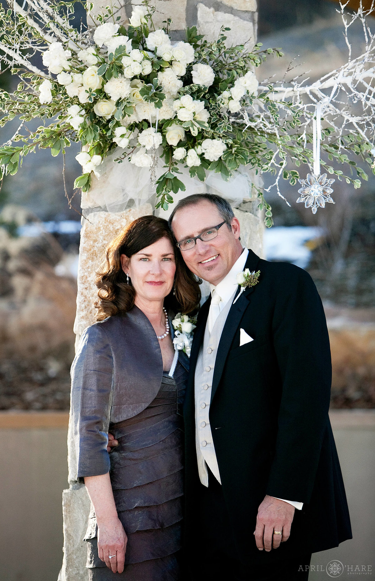 Parent Photos from a Denver Wedding at Cielo in Castle Pines Colorado