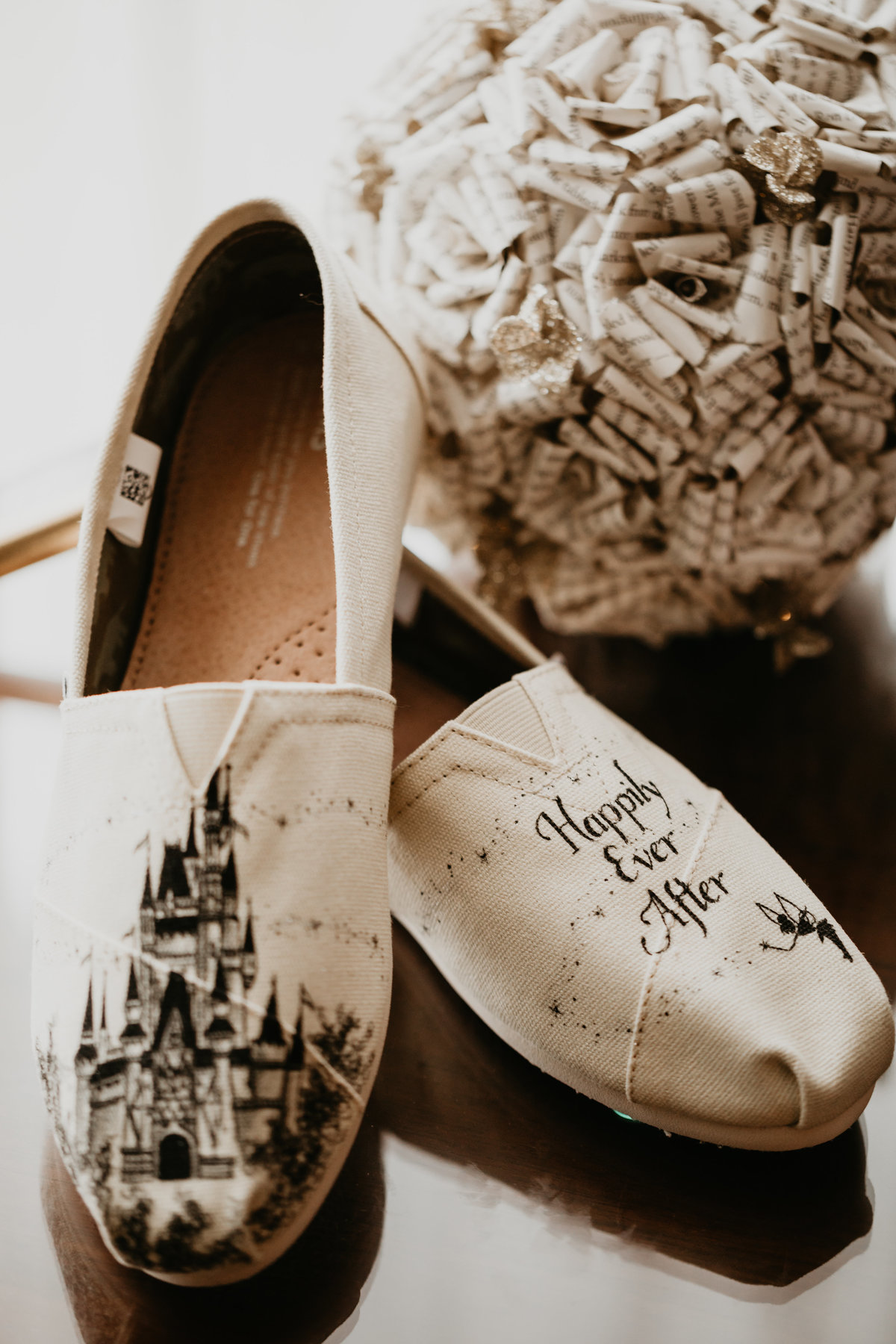 Disney and Harry Potter wedding day details in Pittsburgh Pennsylvania