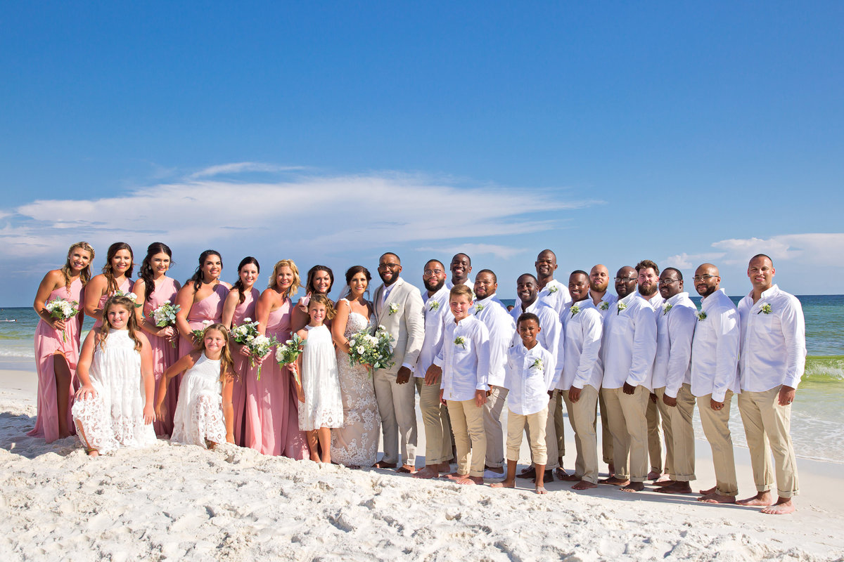Okaloosa Island wedding photographer