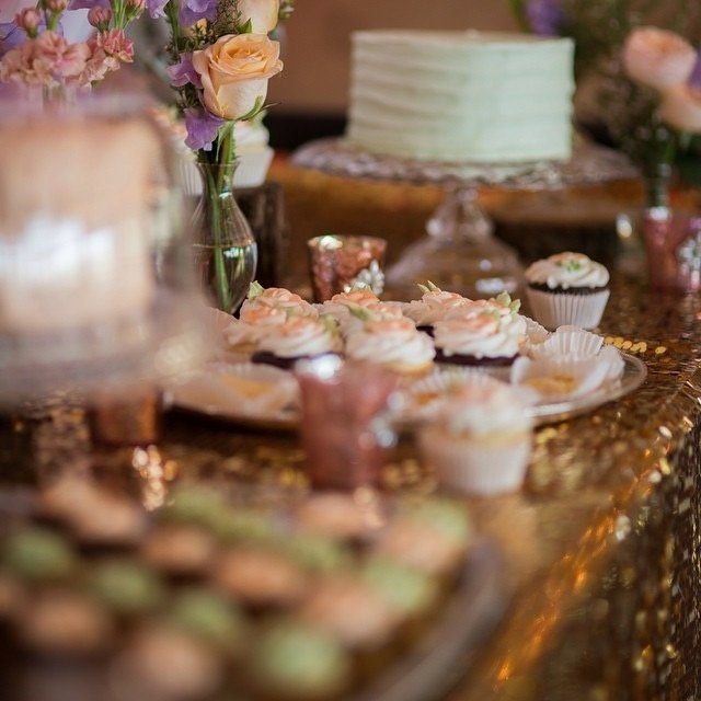 Woodcrest Country Club Ch erry Hill, NJ dessert reception photo by Lurey Photography