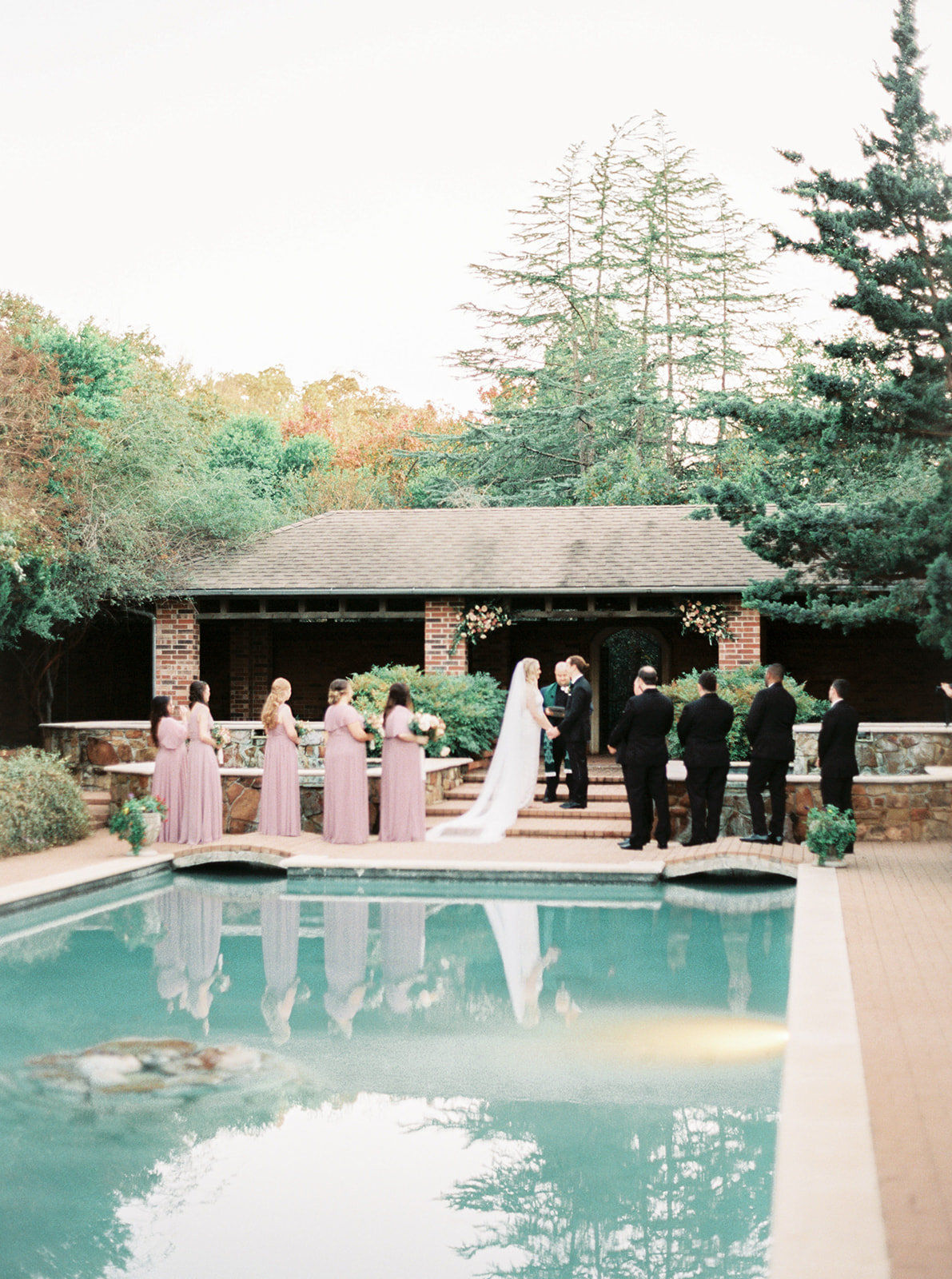 Romantic Garden Party at Clark Gardens Dallas Wedding (18)