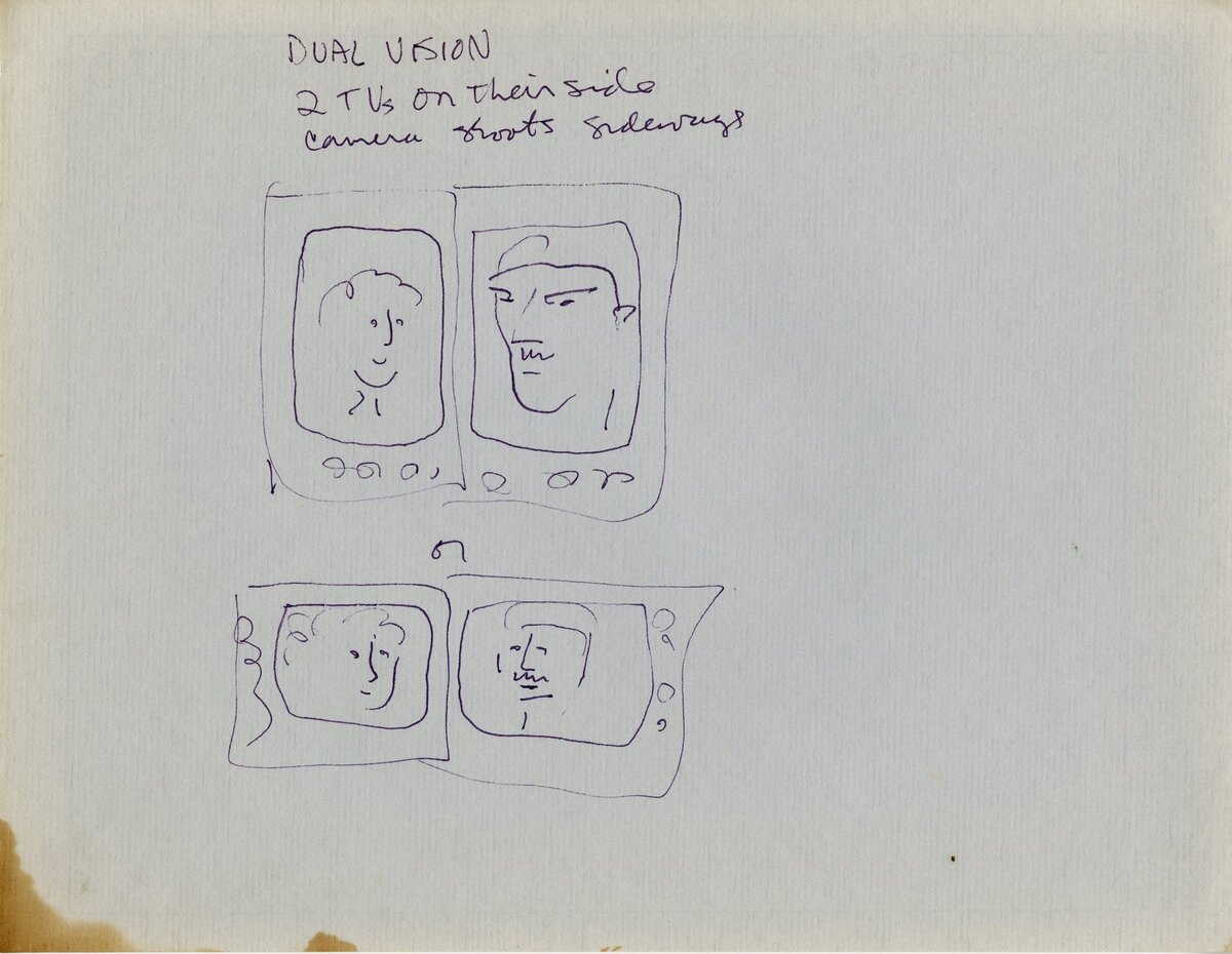 Art-1990-Dual vision sketches