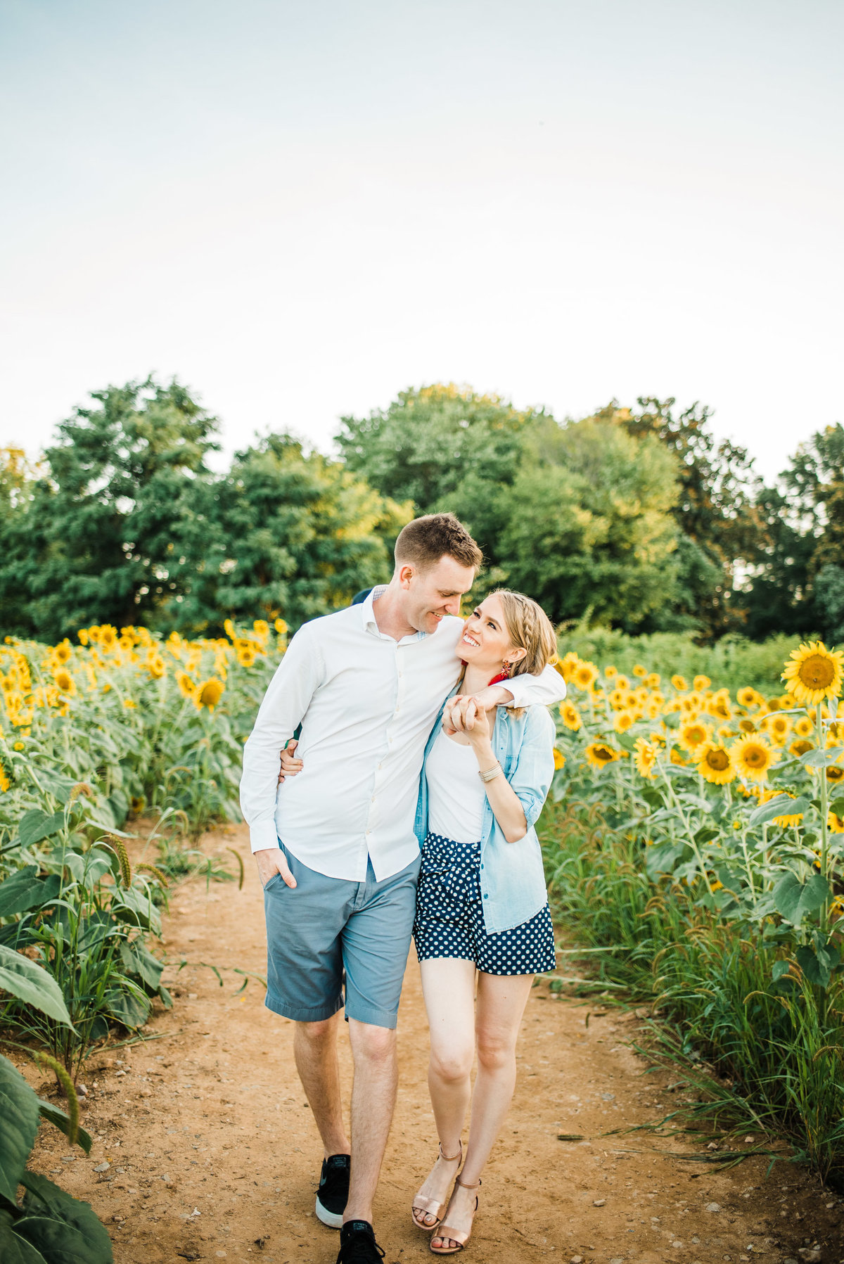 Leah and Andrew Sunflowers-1 copy