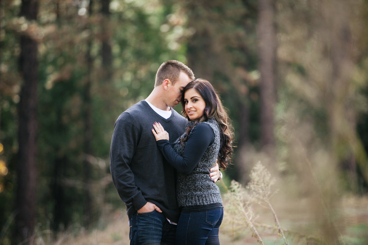 Empire Mine engagement session Grass Valley, CA