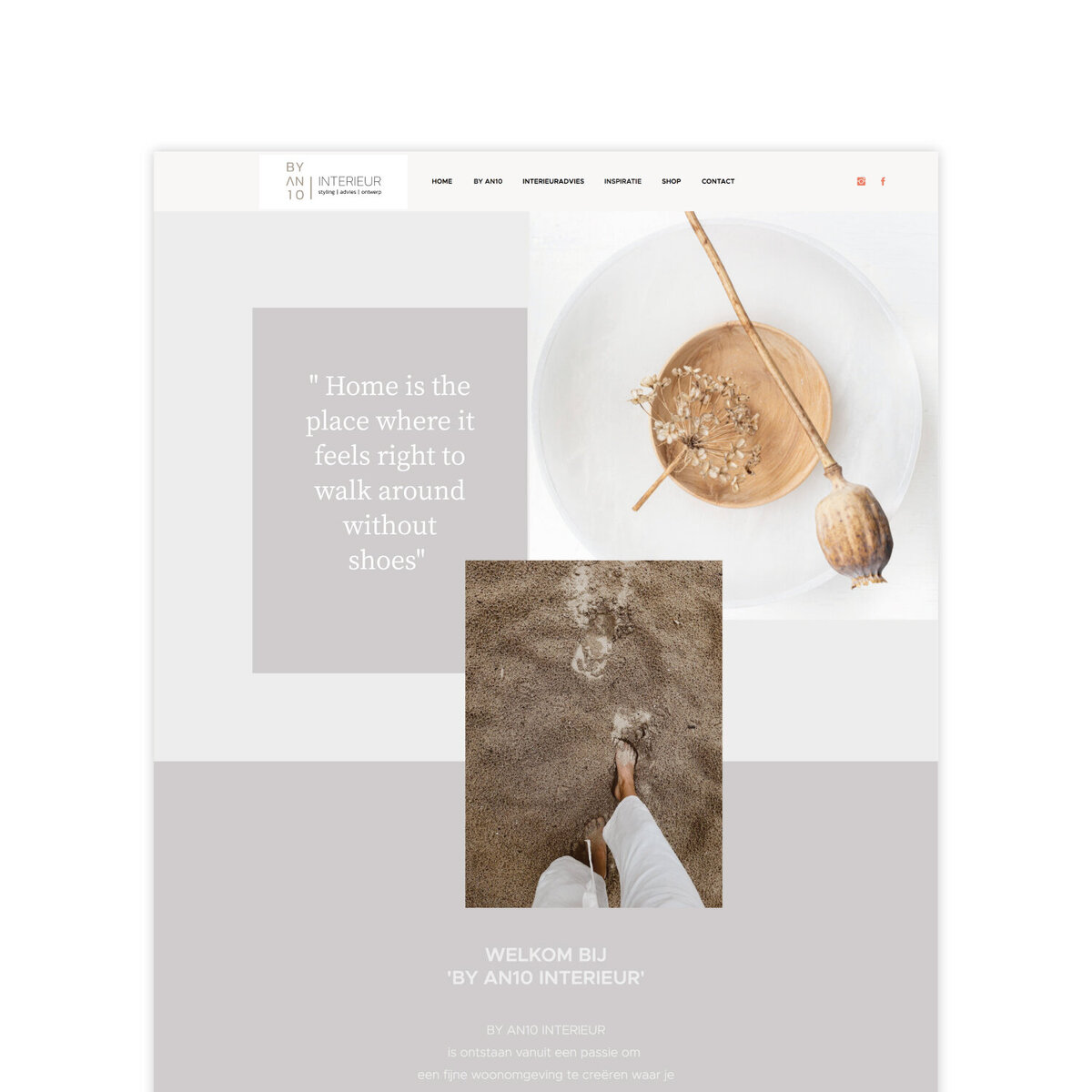 The Roar Showit Web Design Blog Interview Antina Interior Design Website Template