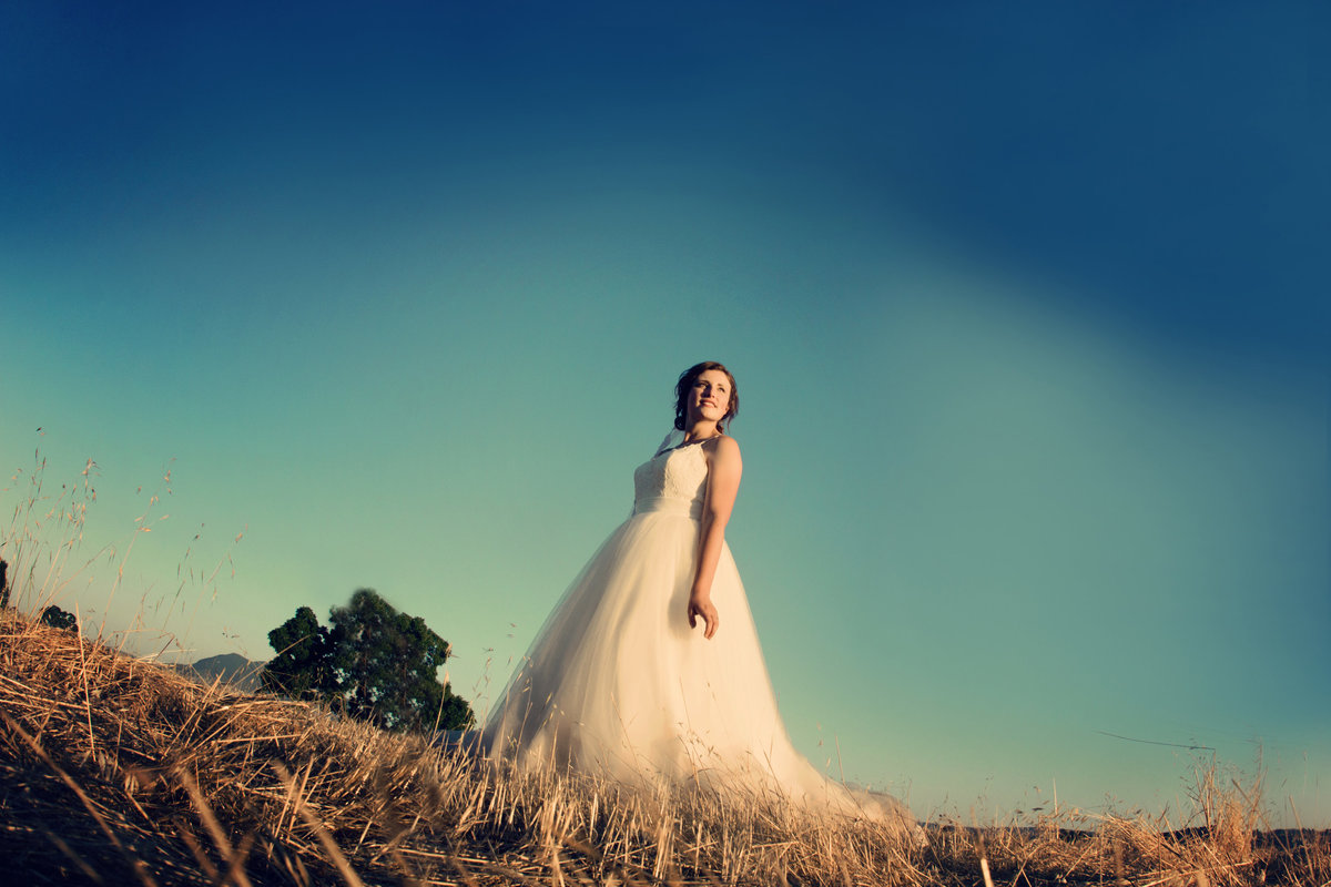 bridal portrait,  bride