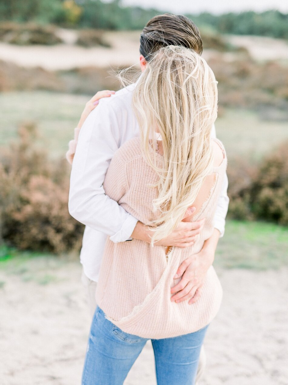 Engagement photos Soesterduinen by Fine Art Photographer Michelle Wever Photography_0015