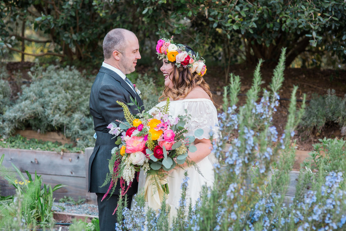 Bride and groom portraits at Madrona Manor in Healdsburg California