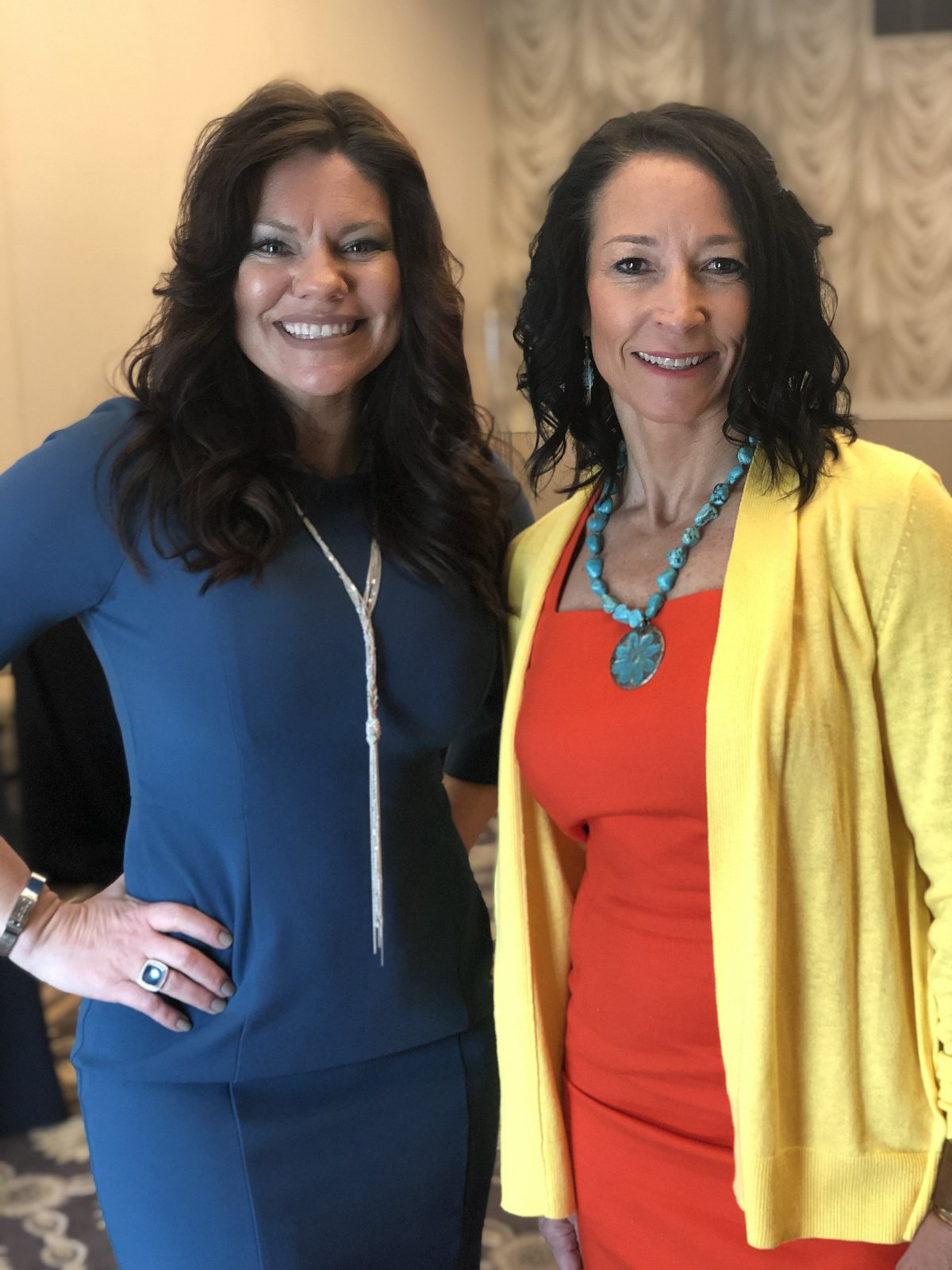 Heather Crider and Dr. Heidi Toxic Relationship Event 2019