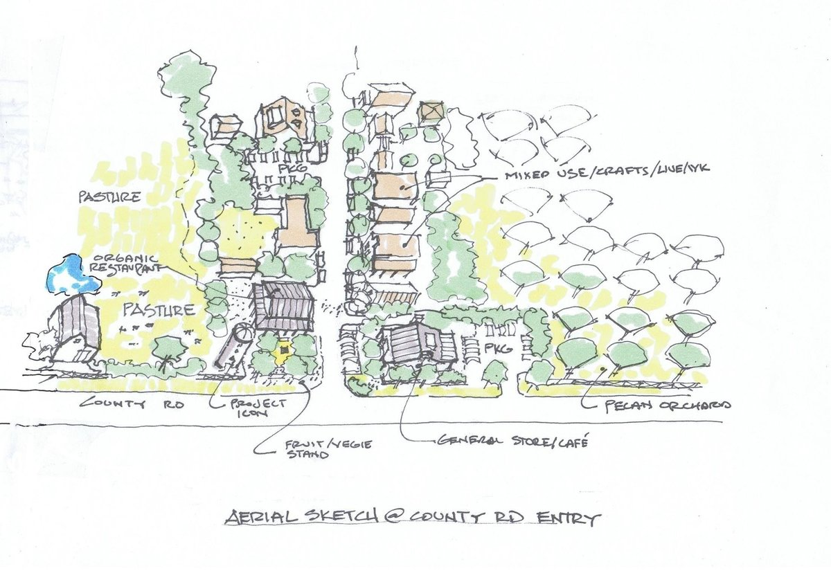 Longleaf Preserve Entry Sketch 2010