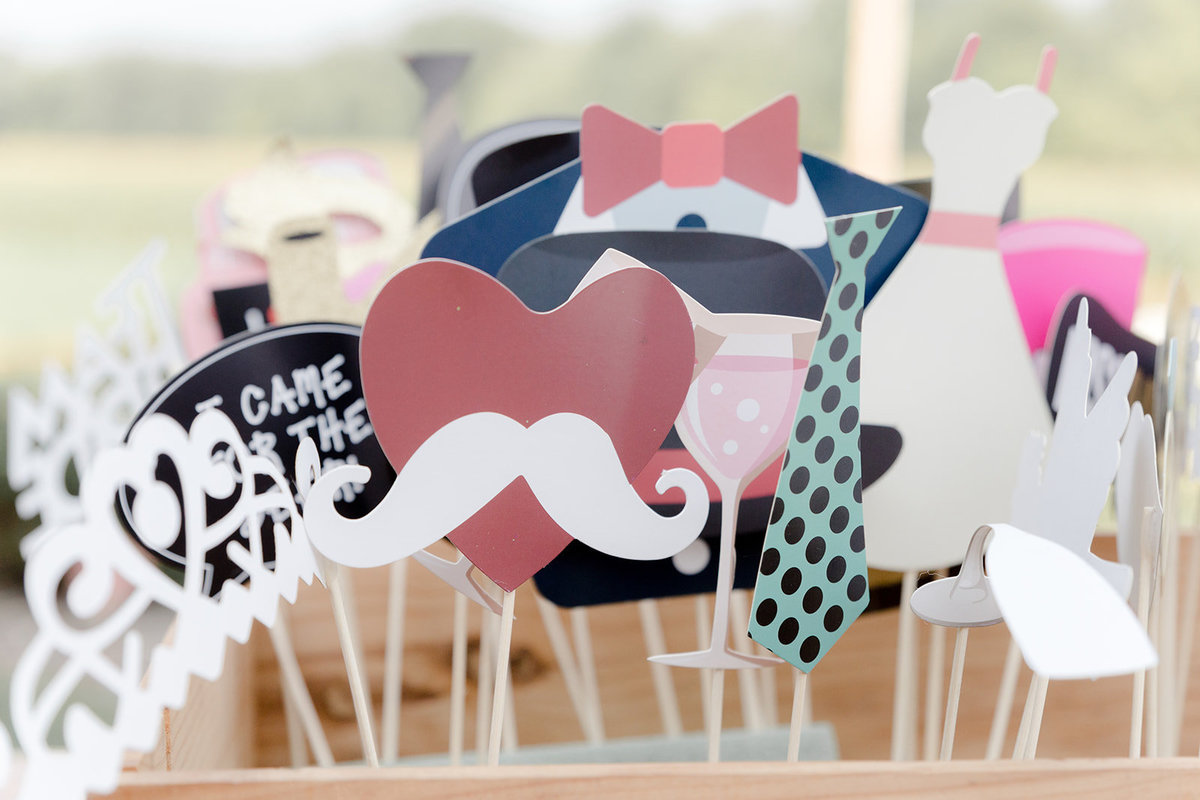 Wedding Day Photobooth Props