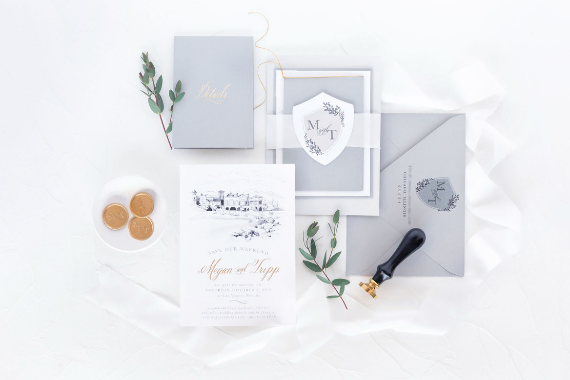 Megan & Tripp - Suzanne Johnson : She Paperie