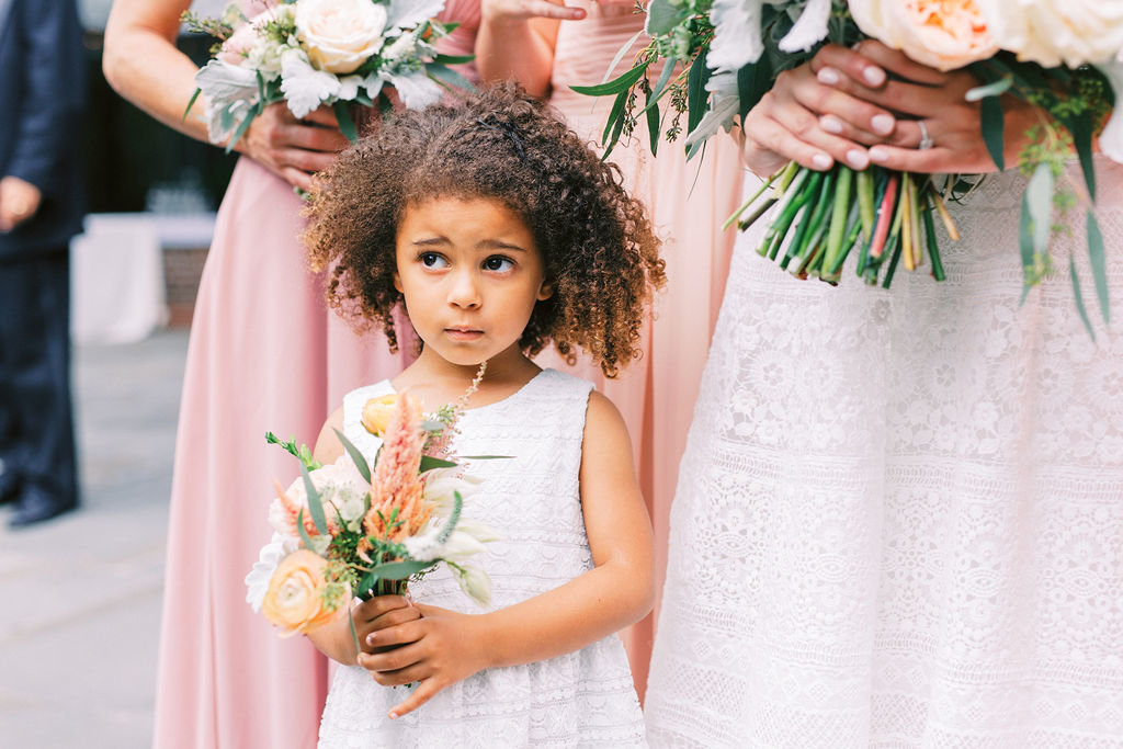 flower girl greenville country club delaware wedding