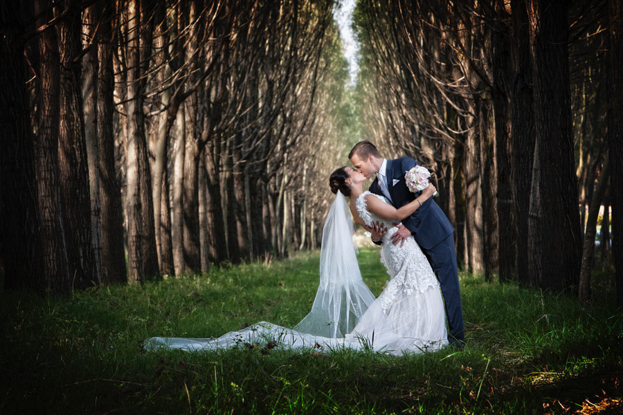 fairy tale wedding outdoor phot