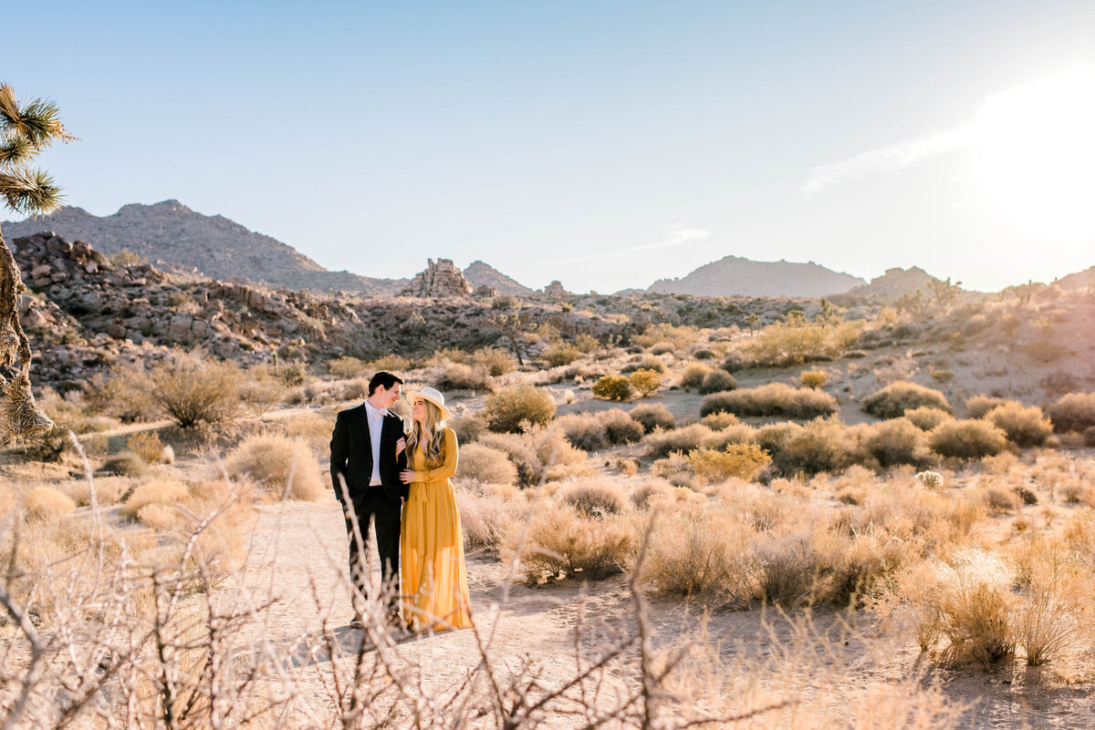 Joshua Tree, CA | engagement photography-1