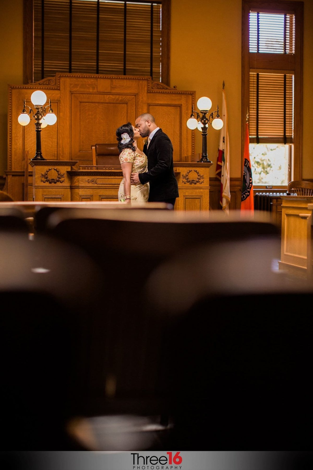Old Orange County Courthouse Wedding Photographers