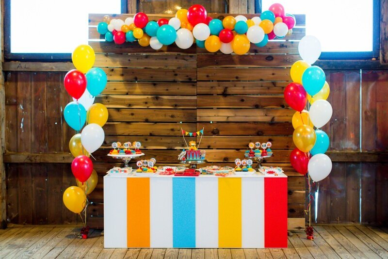 Circus Themed 1st Birthday Indianapolis Party Planner_0049