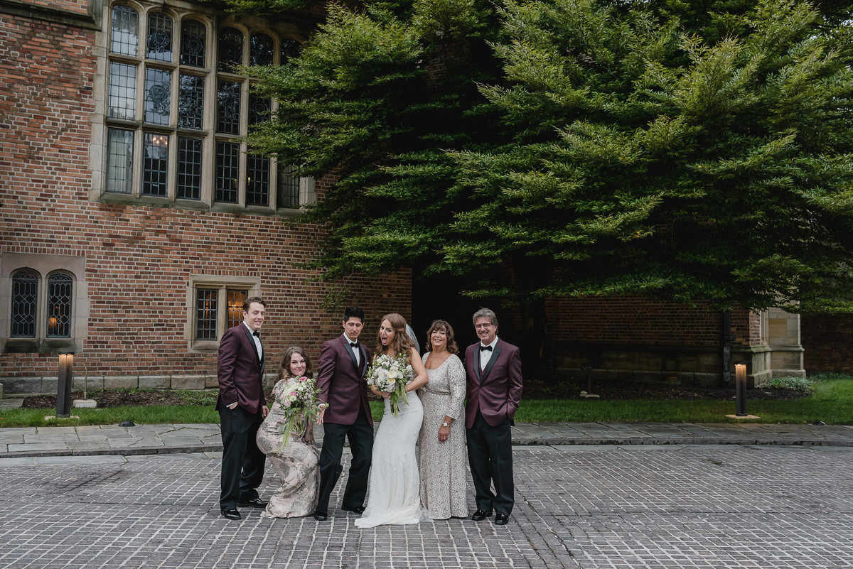 Blush and Maroon Meadow Brook Hall Wedding in Rochester Michigan67