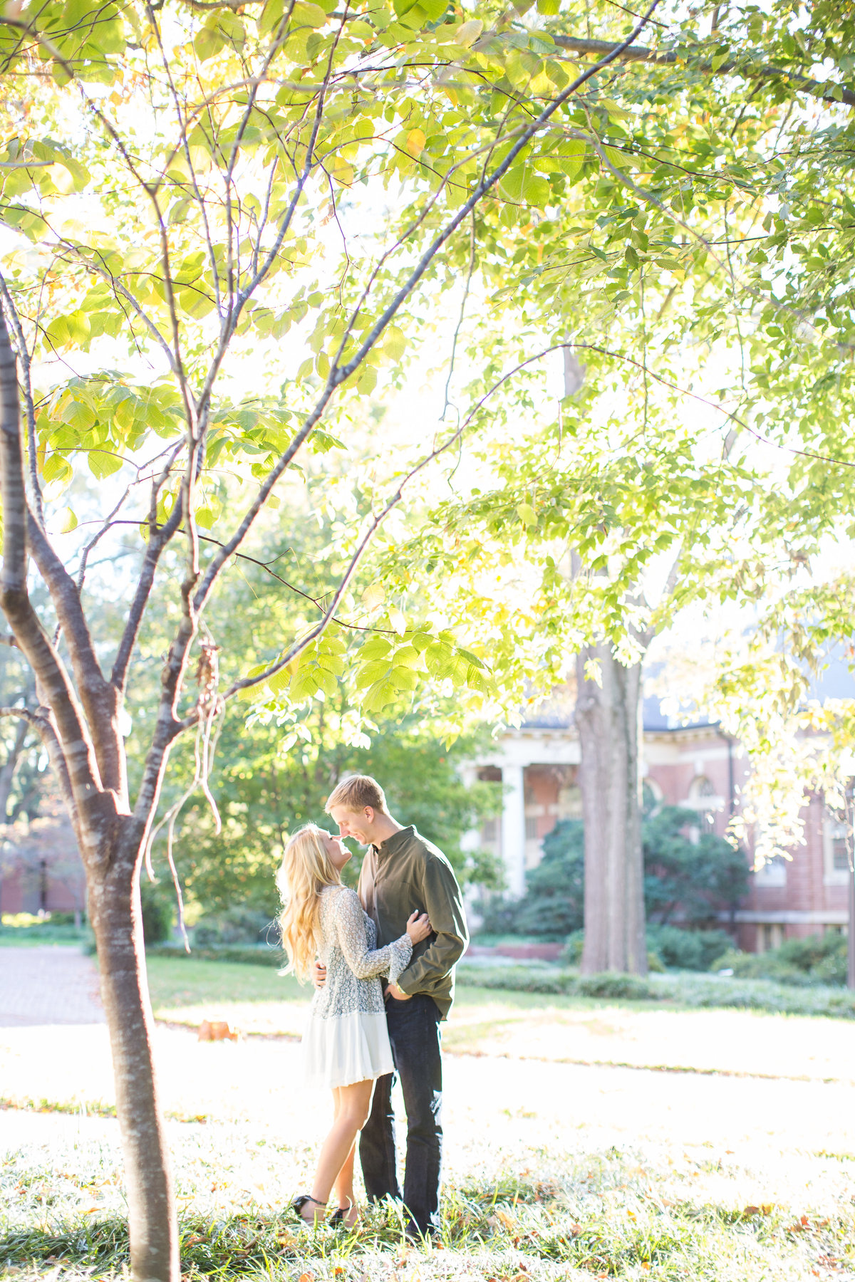 Raleigh Engagement Portraits