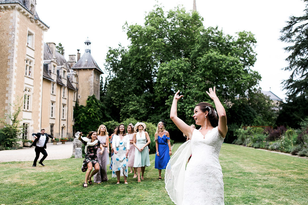 french chateau wedding st julien ars