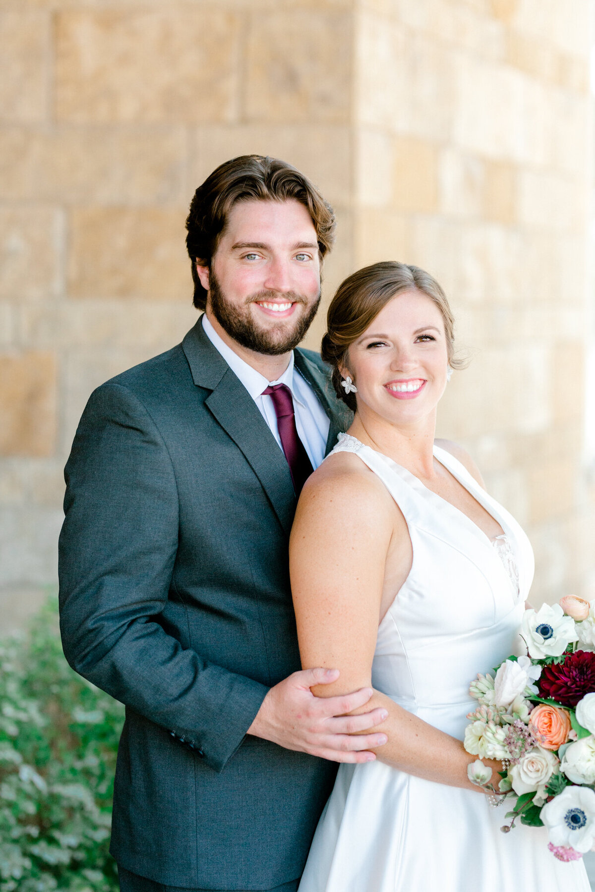 Kaylee & Michael's Wedding at Watermark Community Church | Dallas Wedding Photographer | Sami Kathryn Photography-54