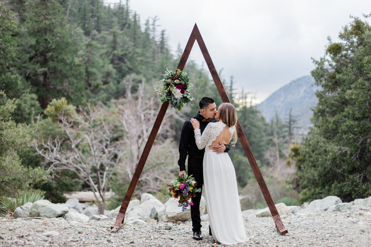 Mt. Baldy Elopement, Wildflower Bouquet, Mt. Baldy Styled Shoot, Mt. Baldy Wedding, Forest Elopement, Forest Wedding, Boho Wedding, Boho Elopement, Mt. Baldy Boho, Forest Boho, Woodland Boho S&W-32