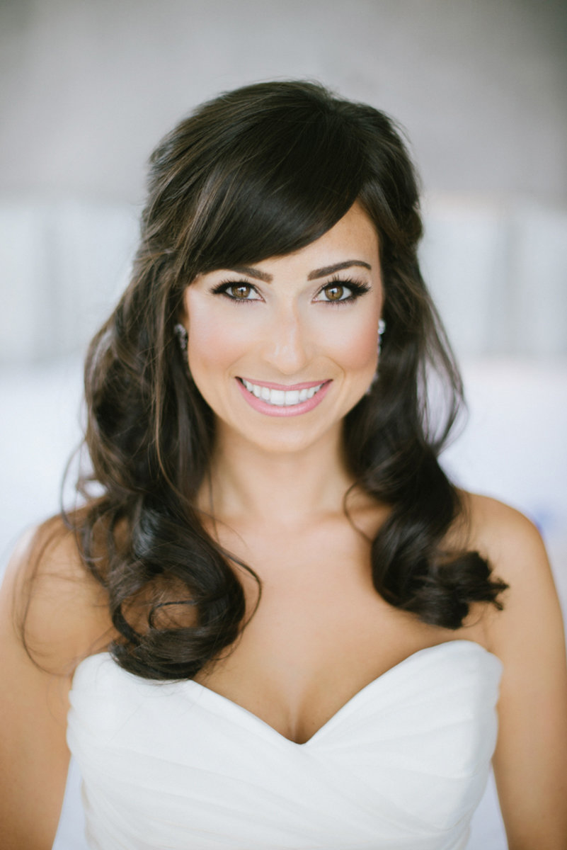 elegant bride beautiful nyc make up mua bright clean happy white airy light