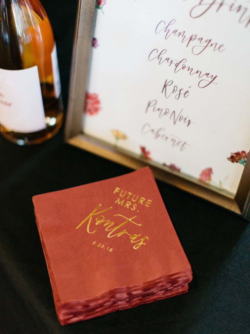 pirouettepaper.com | Wedding Stationery, Signage and Invitations | Pirouette Paper Company | Blush and Burgundy Bridal Shower | Mallory Dawn Photography _ (8)